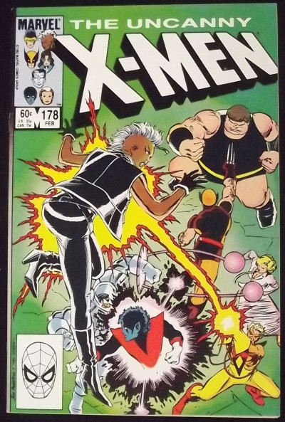 UNCANNY X-MEN #178 VF JOHN ROMITA JR ART