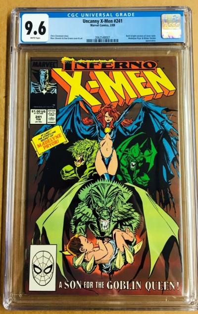 Uncanny X-Men (1963) #241 CGC 9.6 Madelyn Pryor Inferno (2062548007)