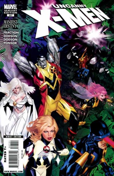 Uncanny X-men (1981) #507 VF/NM Michael Golden Variant Cover Rare