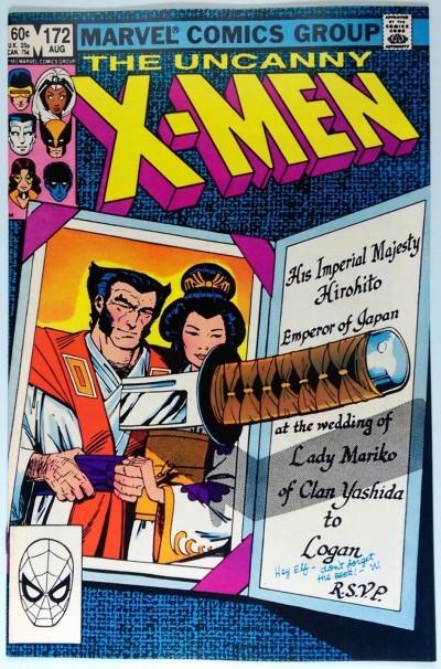 Uncanny X-MEN (1981) #172 NM (9.4)  Wolverine Solo Story