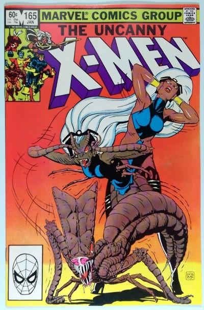 Uncanny X-MEN (1981) #165 NM (9.4) artist - Paul Smith Begins
