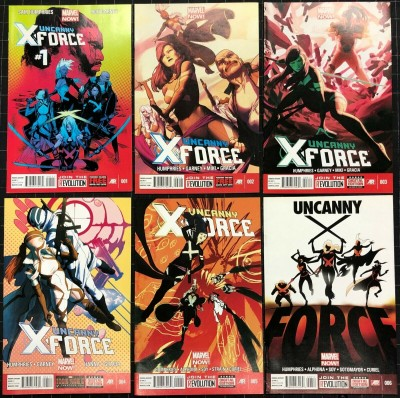 """Uncanny X-Force (2013) #1 2 3 4 5 6 VF/NM complete """"Let It Bleed"""" story line"""