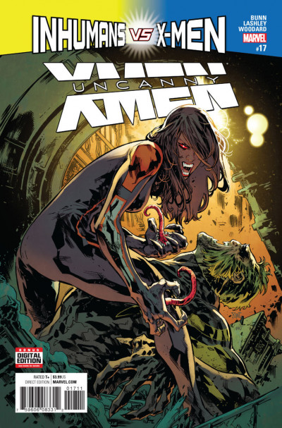 Uncanny X-men (2016) #17 VF/NM Ken Lashley Cover