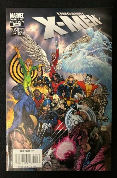 Uncanny X-men (1981) #500 VF+ 1:30 Michael Turner Variant Cover