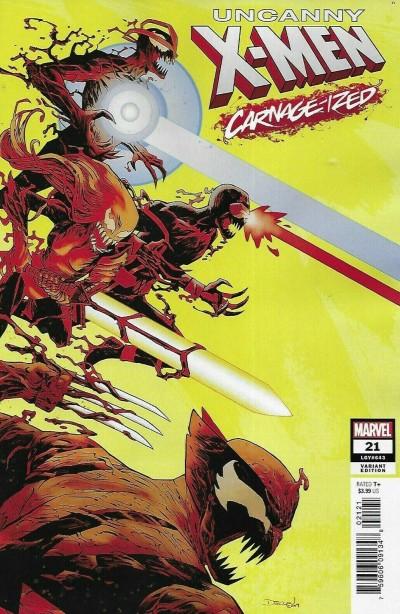Uncanny X-men (2018) #21 VF/NM Declan Shalvey Carnage-ized Variant Cover
