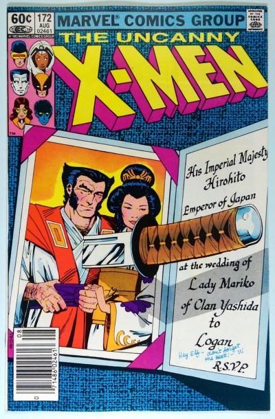 Uncanny X-MEN (1981) #172 VF/NM (9.0)  Wolverine Solo Story