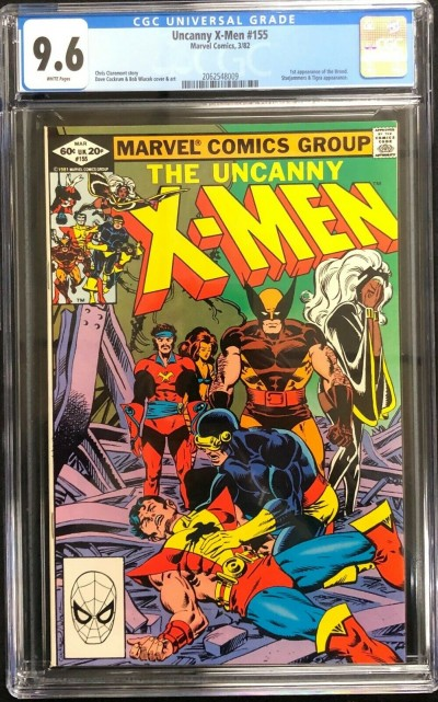 Uncanny X-Men (1963) #155 CGC 9.6 1st app of the Brood (2062548009)