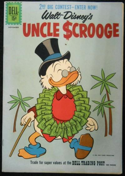 UNCLE SCROOGE #'s 35, 36 & 37 WALT DISNEY DELL 1ST APPEARANCE MAGICA DE SPELL