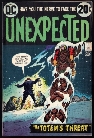 Unexpected (1968) #147 FN+ (6.5)