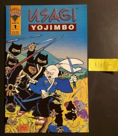 Usagi Yojimbo #1 v2 (1993) Mirage Studios NM- (9.2) warehouse find [kg]|