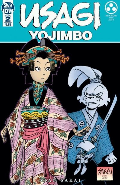 Usagi Yojimbo (2019) #2 VF/NM Stan Sakai IDW