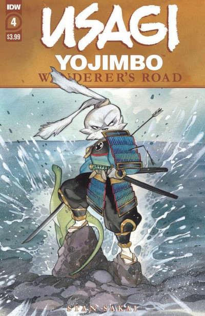 Usagi Yojimbo: Wanderer's Road (2020) #4 of 7 VF/NM Peach MoMoKo Cover Art IDW