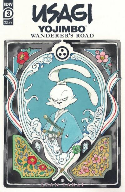 Usagi Yojimbo: Wanderer's Road (2020) #3 of 7 VF/NM Peach MoMoKo Cover Art IDW