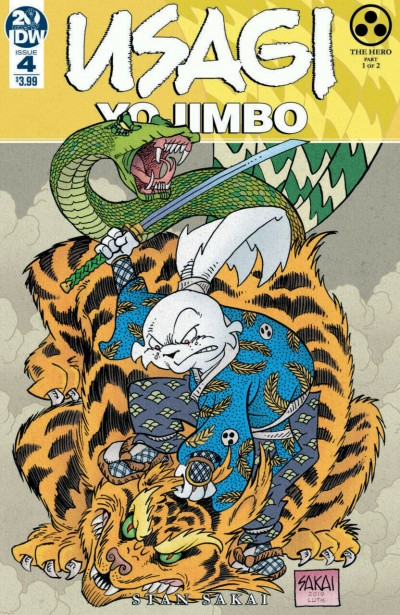 Usagi Yojimbo (2019) #4 VF/NM Stan Sakai IDW