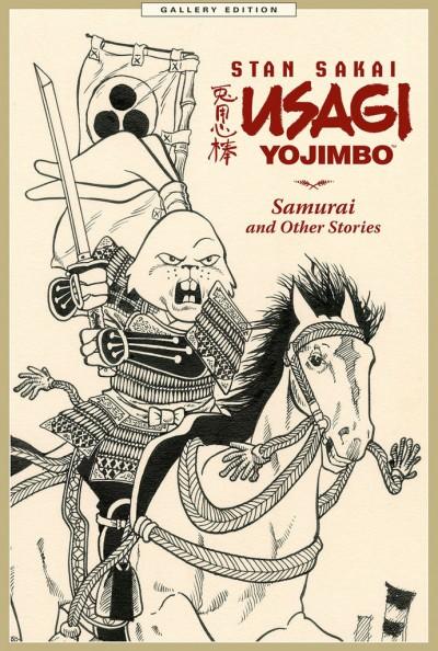 USAGI YOJIMBO GALLERY EDITION VOLUME 1 SAMURAI AND OTHER STORIES HC SEALED