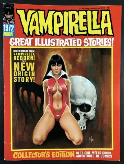 Vampirella Annual #1 (1972) FN+ (6.5) New definitive Origin By Gonzales