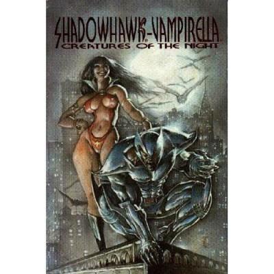 VAMPIRELLA SHADOWHAWK CREATURES OF THE NIGHT #'s 1 & 2 NM HARRIS COMICS