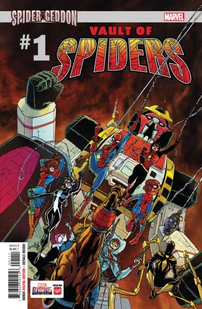 Vault of Spiders (2018) #1 VF/NM Giuseppe Camuncoli Regular Cover
