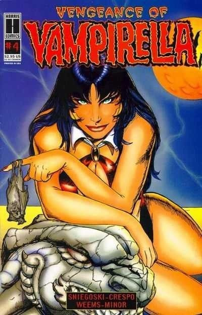 VENGEANCE OF VAMPIRELLA (1994) #4 VF/NM HARRIS COMICS