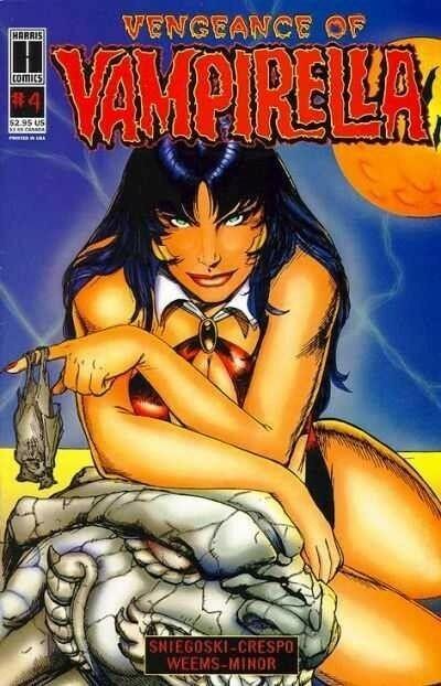 Vengeance of Vampirella (1994) #4 VF/NM Buzz Cover Harris Comics