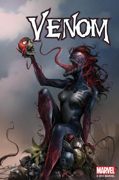 Venom (2016) #151 VF/NM Francesco Mattina Mary Jane Venom Variant Cover
