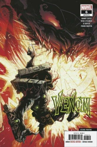 Venom (2018) #6 (#171) VF/NM Ryan Stegman Second Printing Variant Cover