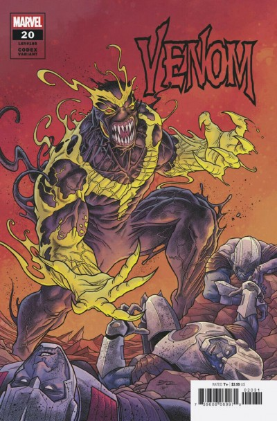 Venom (2018) #20 (#185) VF/NM Ryan Bodenheim Codex Variant Cover