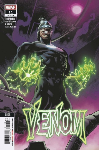 Venom (2018) #11 (#176) VF/NM Ryan Stegman Second Printing Variant Cover