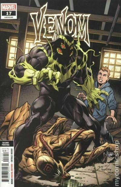 Venom (2018) #17 (#182) VF/NM 2nd Printing Bagley Cover Absolute Carnage Tie-In