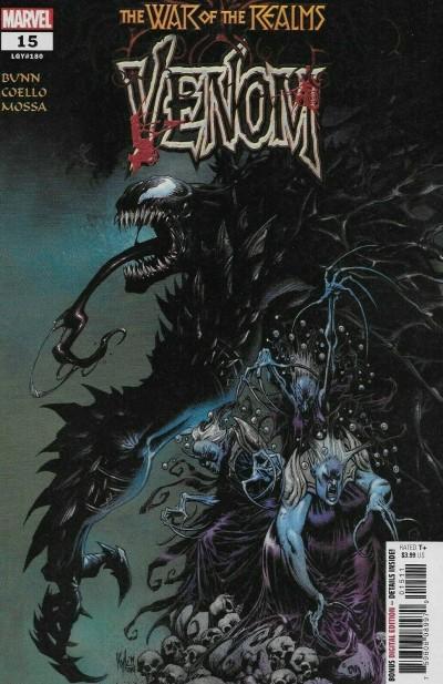 Venom (2018) #15 (#180) VF/NM Secret Carnage Logo Variant Cover