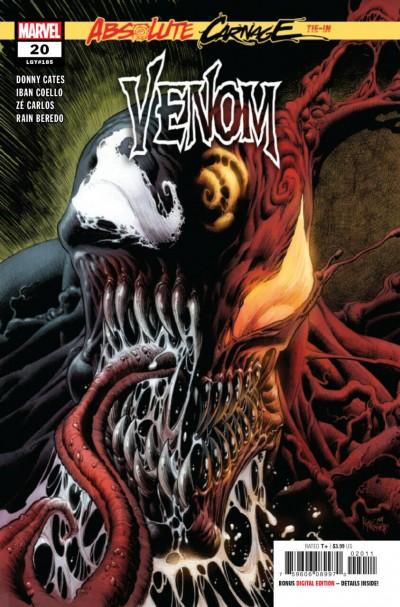 Venom (2018) #20 (#185) VF/NM Absolute Carnage Tie-In