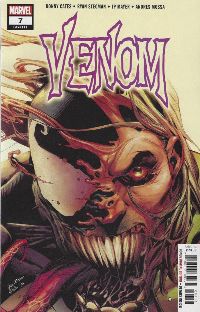 Venom (2018) #7 VF/NM-NM Secret Tongue Out Incentive Variant Cover Donny Cates