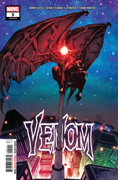 Venom (2018) #5 (#170) VF/NM Ryan Stegman Cover 1st Printing