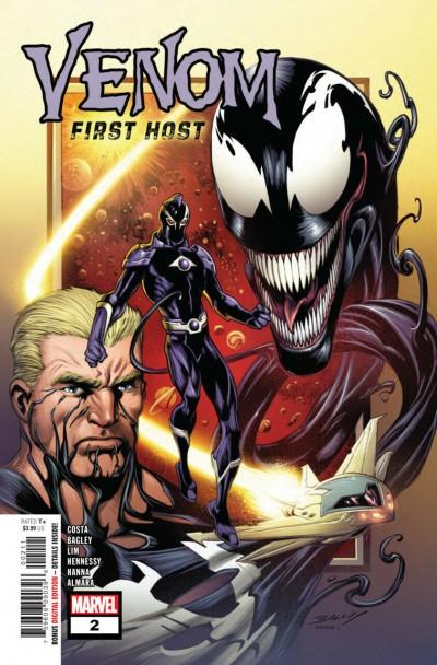 Venom: First Host (2018) #2 of 5 VF/NM Mark Bagley Cover