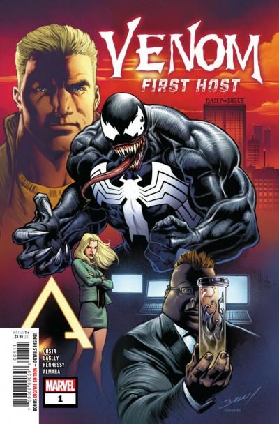 Venom: First Host (2018) #1 of 5 VF/NM Mark Bagley Cover 1st App Tel-Kar