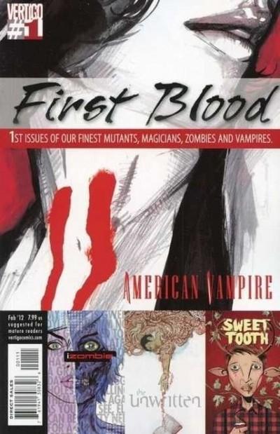 VERTIGO: FIRST BLOOD #1 VF/NM ONE-SHOT