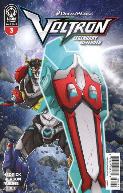 Voltron: Legendary Defender (2017) Volume 2 #3 VF/NM Dreamworks Lion Forge