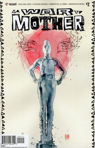 War Mother (2017) #2 VF/NM David Mack Cover Valiant