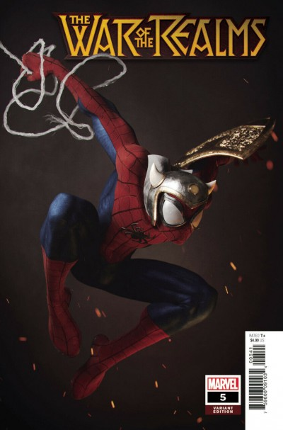 War of the Realms (2019) #5 VF/NM Victor Hugo 1:25 Spider-Man Variant Cover