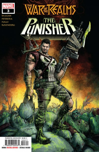 War of the Realms: Punisher (2019) #3 of 3 VF/NM