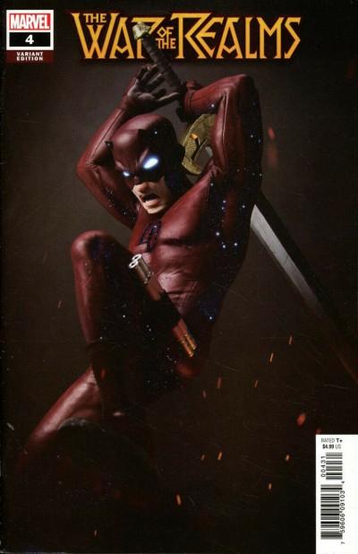 War of the Realms (2019) #4 VF/NM Victor Hugo 1:25 Daredevil Variant Cover