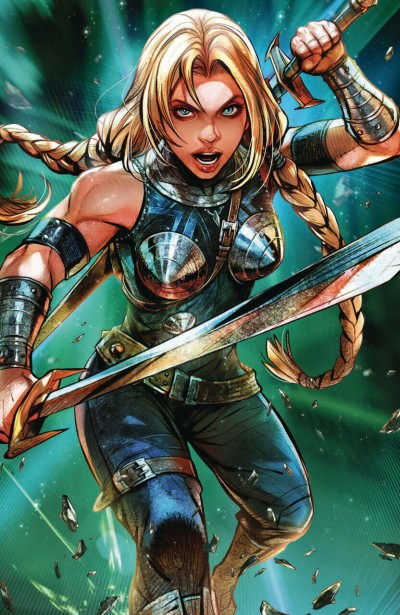 War of the Realms (2019) #4 VF/NM Marvel Battle Lines Variant Cover