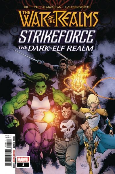 War of the Realms Strikeforce: The Dark Elf Realm (2019) #1 VF/NM Francis Yu