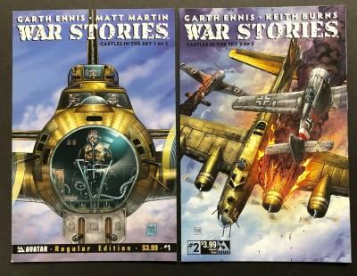 War Stories (2014) #'s 1 2 VF/NM Garth Ennis Avatar