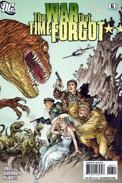 WAR THAT TIME FORGOT #6 VF/NM