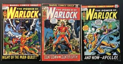 Warlock (1972) #1 2 3 4 5 6 7 8 9 10 11 12 13 14 15 FN (6.0) complete set Thanos