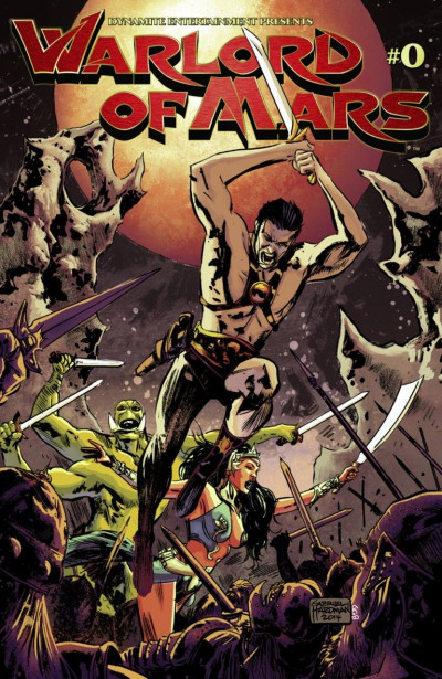 WARLORD OF MARS #0 VF/NM DYNAMITE ENT.