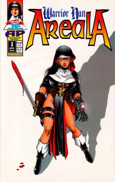 Warrior Nun Areala (1995) #3 VF/NM Ben Dunn 1st Print Netflix Antartic Press !