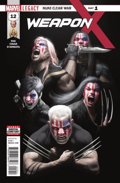 Weapon X (2017) #12 VF/NM