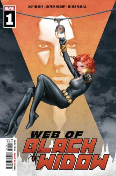 Web of Black Widow (2019) #1 VF/NM Jung-Geun Yoon Cover